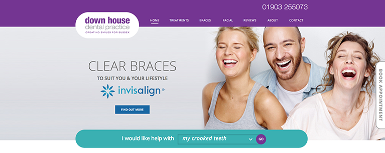 Down House Dental Practice New Website Live